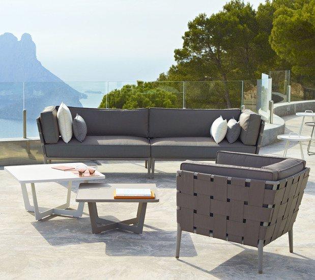 Conic lounge chair incl. cushion set cane line treniq 1 1565779782515