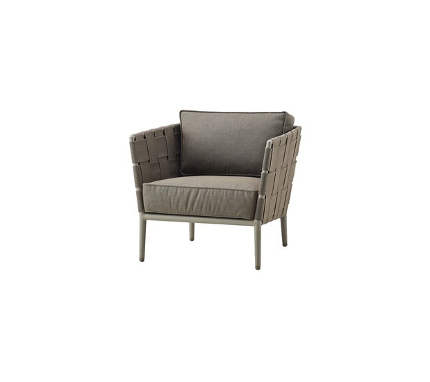 Conic lounge chair incl. cushion set cane line treniq 1 1565779782512