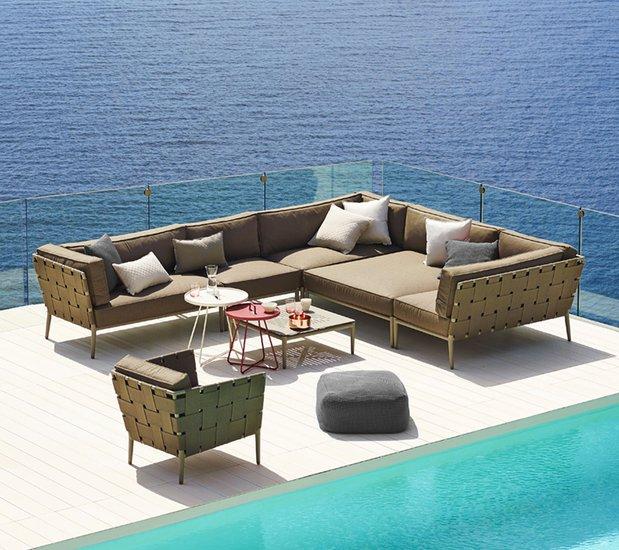 Conic lounge chair incl. cushion set cane line treniq 1 1565779782527