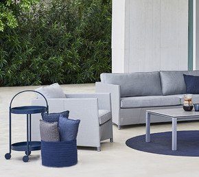Diamond-Lounge-Chair-W/Sunbrella-Cushion-Set_Cane-Line_Treniq_0