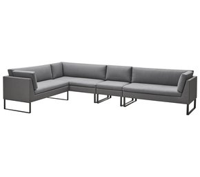 Flex-2-Seater-Sofa-W/-Sunbrella-Cushions,Right_Cane-Line_Treniq_0