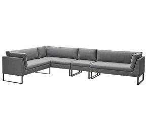Flex-2-Seater-Sofa-W/-Sunbrella-Cushions,-Left_Cane-Line_Treniq_0
