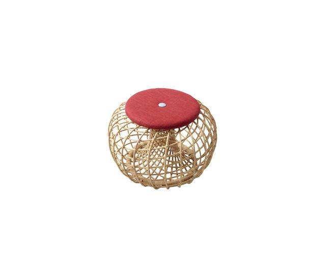 Nest cushion for small footstool cane line treniq 1 1566198719574