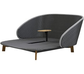 Peacock-Daybed-With-Table_Cane-Line_Treniq_0