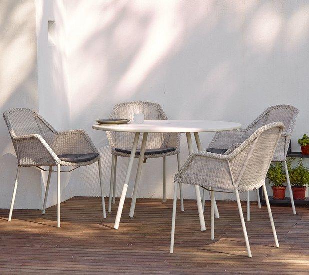 Breeze dining chair  stackable  cushion5464ysn95 cane line treniq 1 1566214069096
