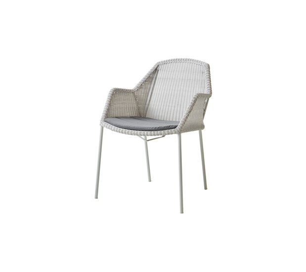 Breeze dining chair  stackable  cushion5464ysn95 cane line treniq 1 1566214069114