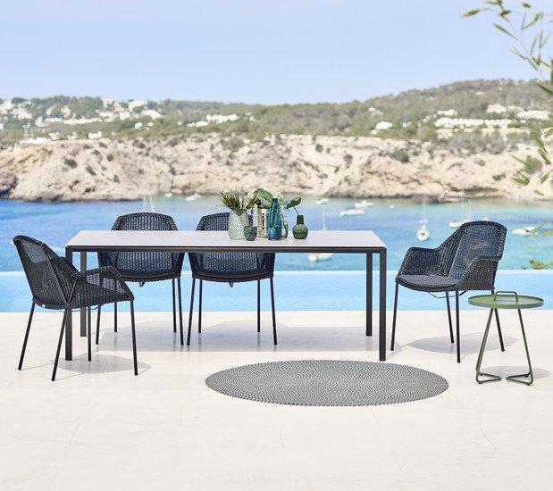 Breeze dining chair  stackable  cushion5464ysn95 cane line treniq 1 1566214069104