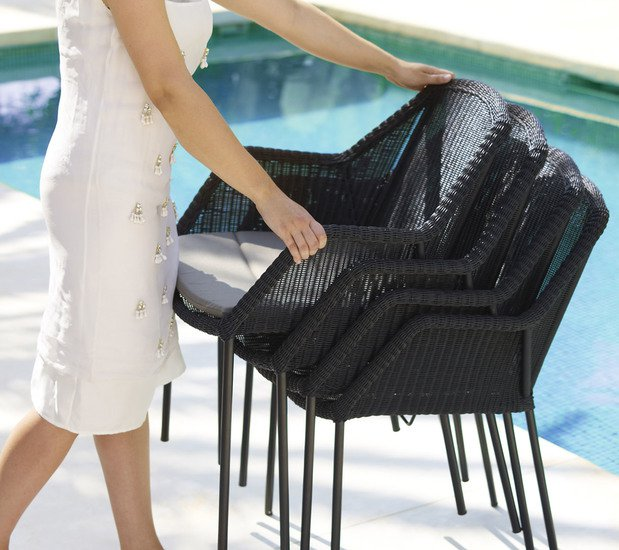 Breeze dining chair  stackable  cushion5464y36 cane line treniq 1 1566214575233