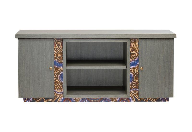 Artsy aboriginal sideboard square barrel treniq
