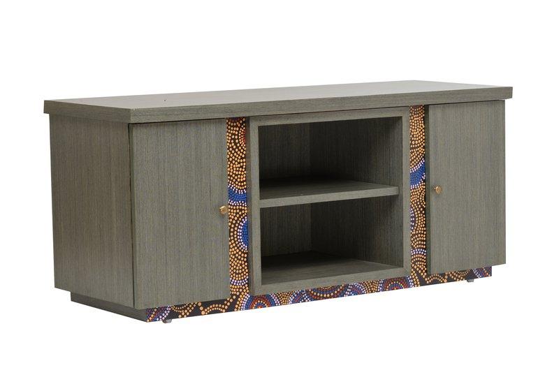 Artsy aboriginal sideboard square barrel treniq 5