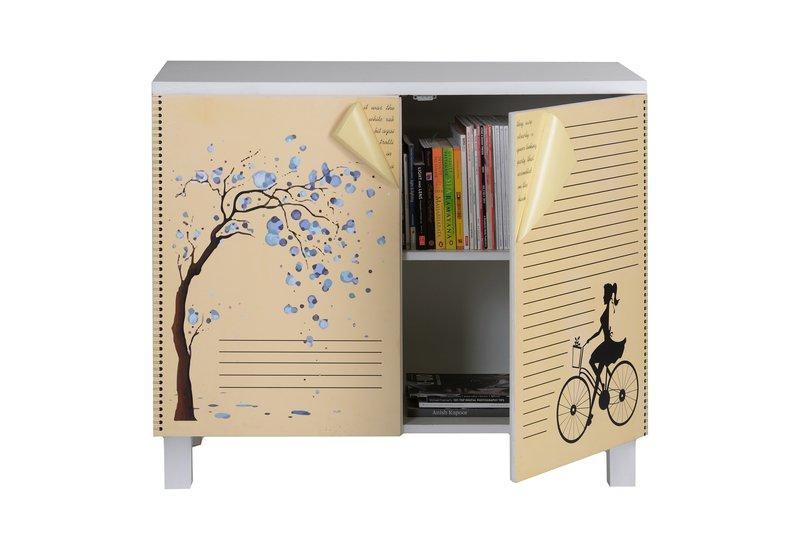 Book cabinet square barrel treniq 1