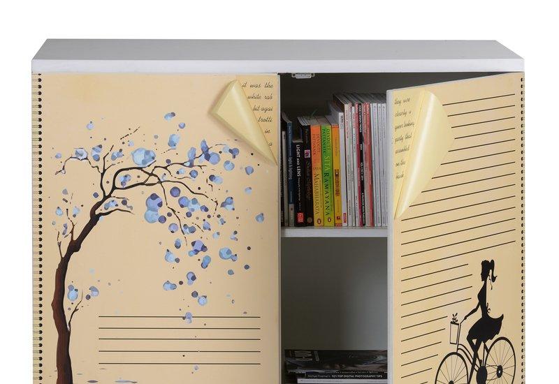 Book cabinet square barrel treniq 3