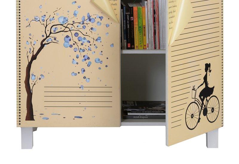 Book cabinet square barrel treniq 4