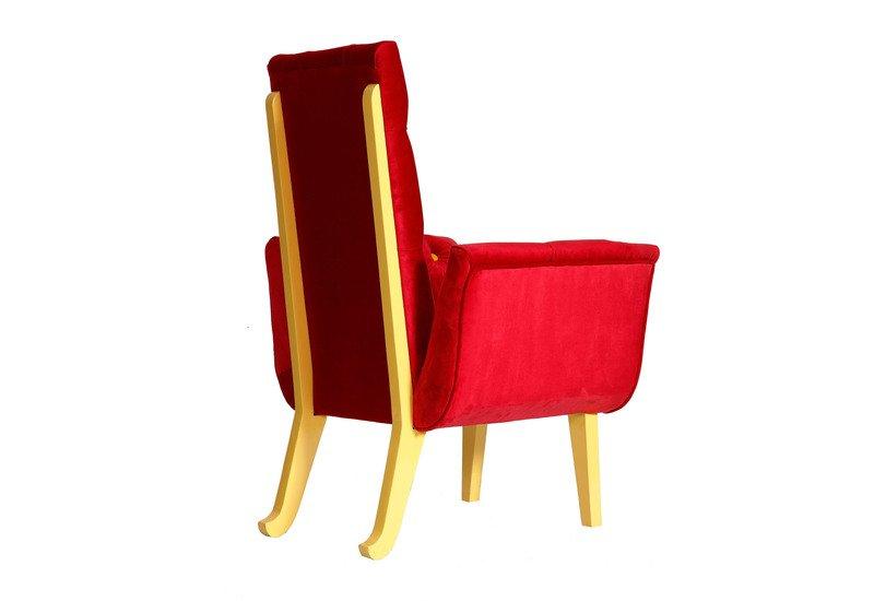 Polka dot chair square barrel treniq 4