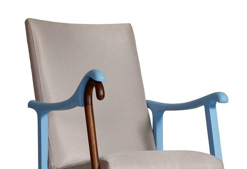 Rocking chair square barrel treniq 2