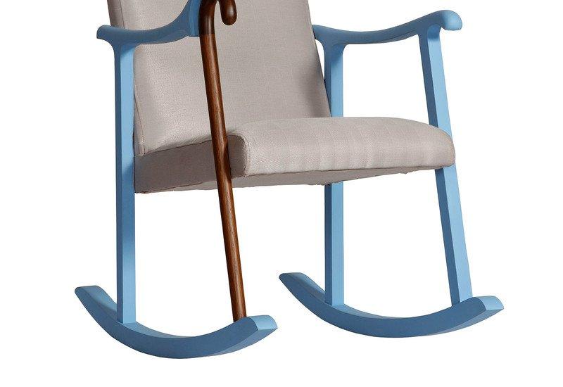 Rocking chair square barrel treniq 3