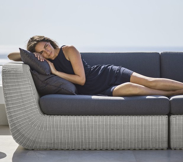 Savannah 2 seater sofa module  right5539w cane line treniq 1 1566307467821