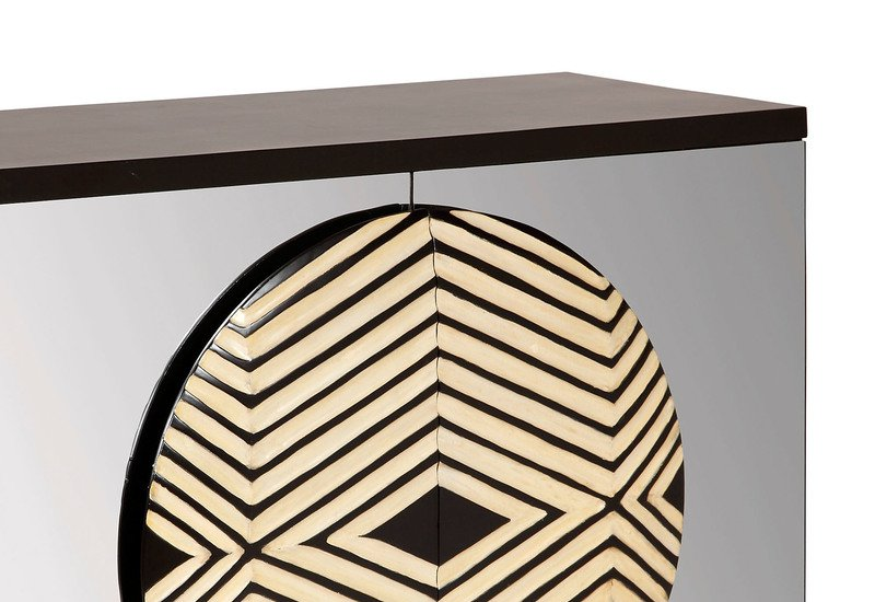 Zulu mirror cabinet square barrel treniq 3
