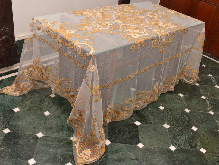 Long table covers passionhomes by sarla antiques treniq 1 1566815116886