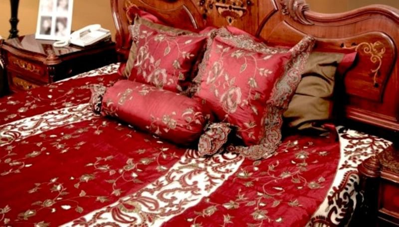 Bed cover   silk and net passionhomes by sarla antiques treniq 3 1567575700790