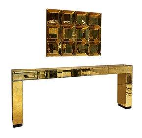 Modern-Italian-Gold-Mirrored-Console-Table-With-Drawers-Gattopardo_Fertini-Casa_Treniq_0