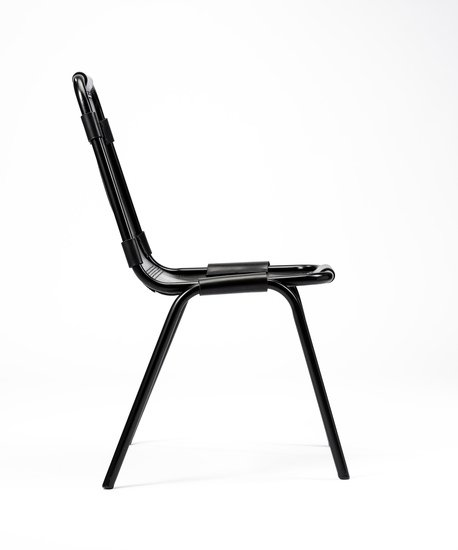 Fully restored vintage 'les arcs' chairs designed by charlotte perriand. rhubarbchairs treniq 1 1567947187865
