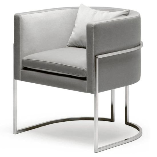 Julius stainless steel chair 1
