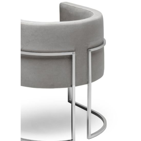 Julius stainless steel chair 2