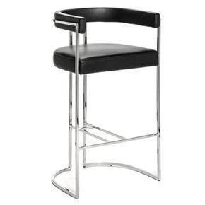 Julius Stainless Steel Bar Stool
