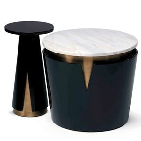 Mini Moon Side Table - Side Tables