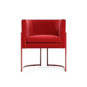 Julius Red Chair 2