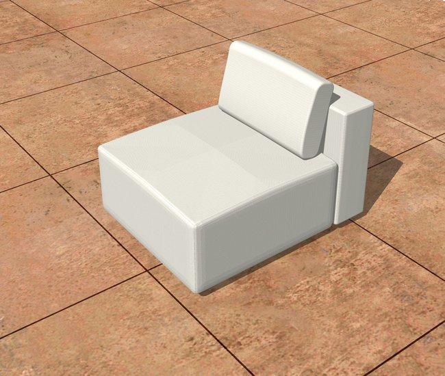 M set with cushion