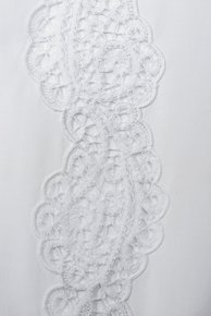 Table Linen Hand Laced: Dentelle de Venise