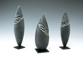 Wood Sculpture: Black Almond