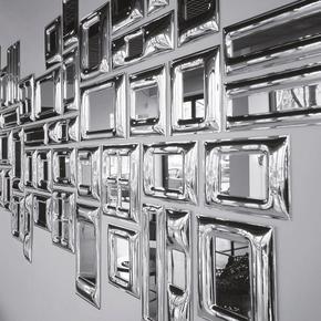 T-Oblunga Sterling Silver Frame