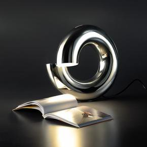 Sterling Silver Reading Lamp