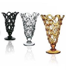 Italian Crystal Lace Vase