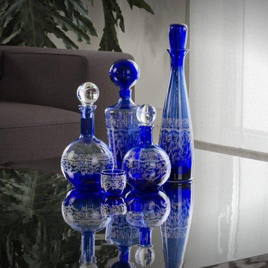 Blue nuit bottles