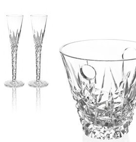 """Sinfonia"" Crystal Champagne Collection"