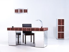 Python Aluminum Handcrafted Desk Set