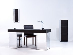 Black Aluminium HanCrafted Desk Set