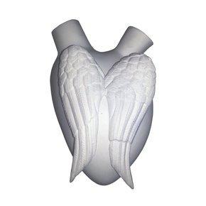 Cielo: Biscuit Porcelain Heart