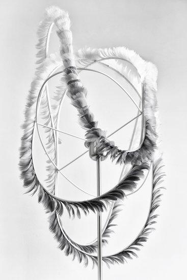 Zephyr suspension en plumes par plumavera4