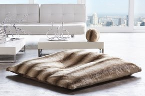 Faux Fur Floor Pillow