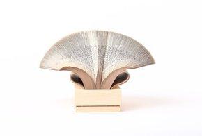 Wig Diamond - Book Sculpture