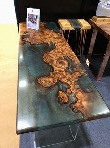 Burr-Elm,-Marine-Blue-And-Rose-Gold-Resin-Table_Raven-River-Designs-Ltd_Treniq_0