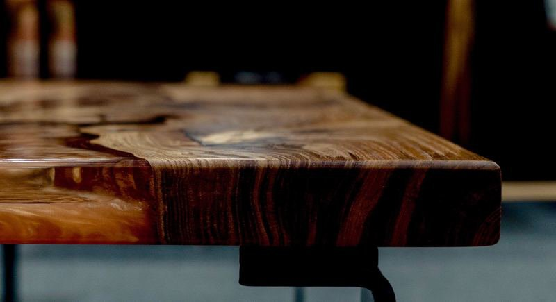 Elm wood and mellow copper resin coffee table raven river designs ltd treniq 1 1571398117357