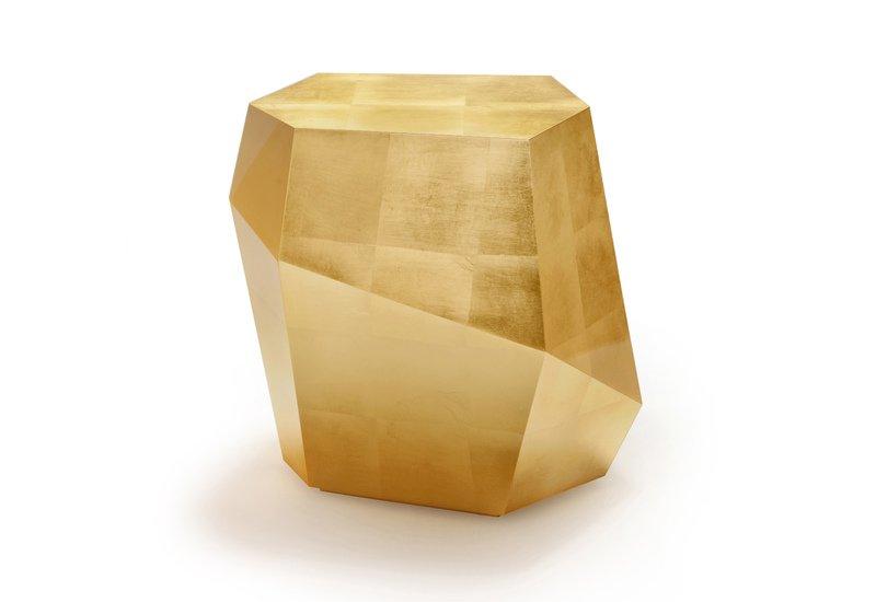 Three rocks high table gold leaf insidherland treniq 1