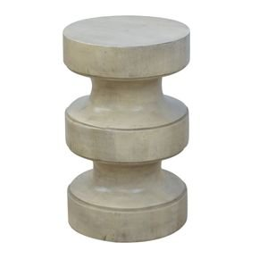 Dumbbell Style Occasional Accent Stool - IN517