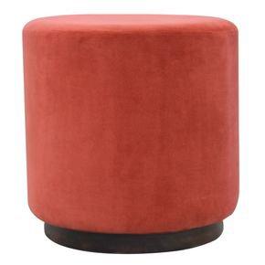 Rust-Velvet-Footstool-With-Gold-Base-In836_Artisan-Furniture_Treniq_0